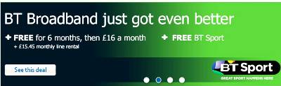 BT's Best Ever Deal