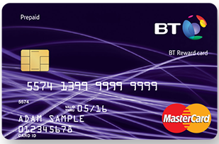 £110 BT Reward Card