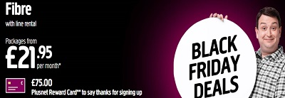 Plusnet Black Friday Deals 2020
