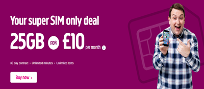 Plusnet SIM Only Deals