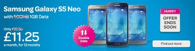 TalkTalk Mobile Samsung Galaxy S5 Neo
