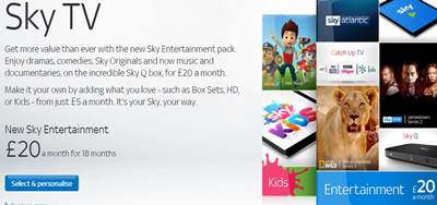 Best Sky TV Deals For New Customers