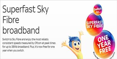Sky Broadband Inside Out Advert