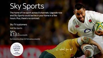 Sky Sports Deals For Existing Customers