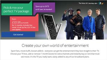 TalkTalk TV Boosts