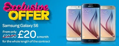 TalkTalk Mobile Samsung Galaxy S6