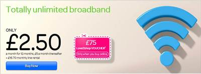 TalkTalk Half Price