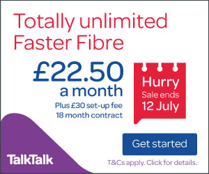 TalkTalk Fibre Broadband