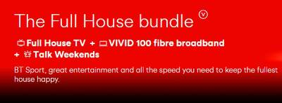 Virgin Media Full House Bundle