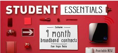 Click Here To Visit Virginmedia.com/Student For More Information